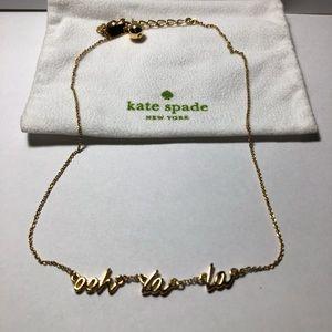 Kate Spade Ooh La La Necklace